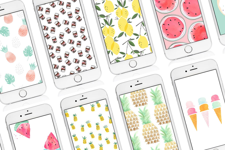 The most beautiful Iphone wallpapers around food