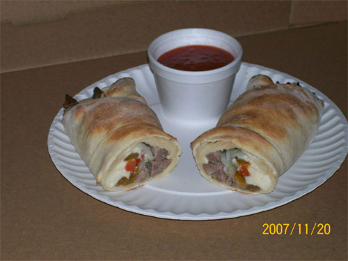 Sausage and Peppers Roll - Cocoa, FL
