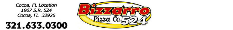 Bizzarro Pizza Co 524